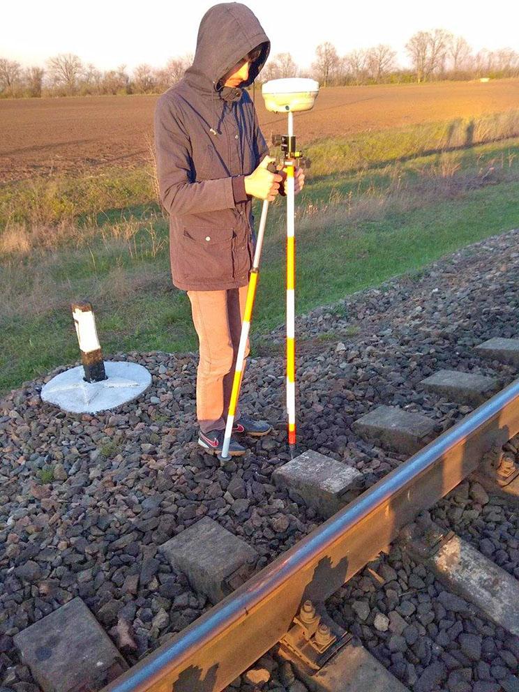 аэрофотосъемка участков железной дороги