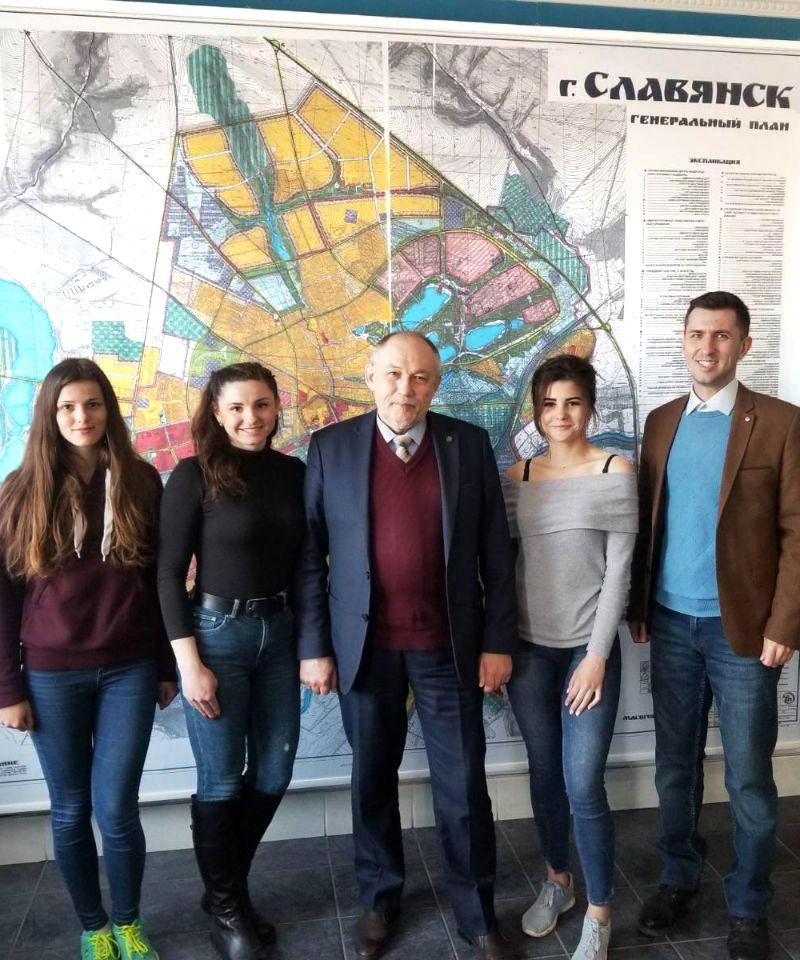 Полевой выезд в город Славянск