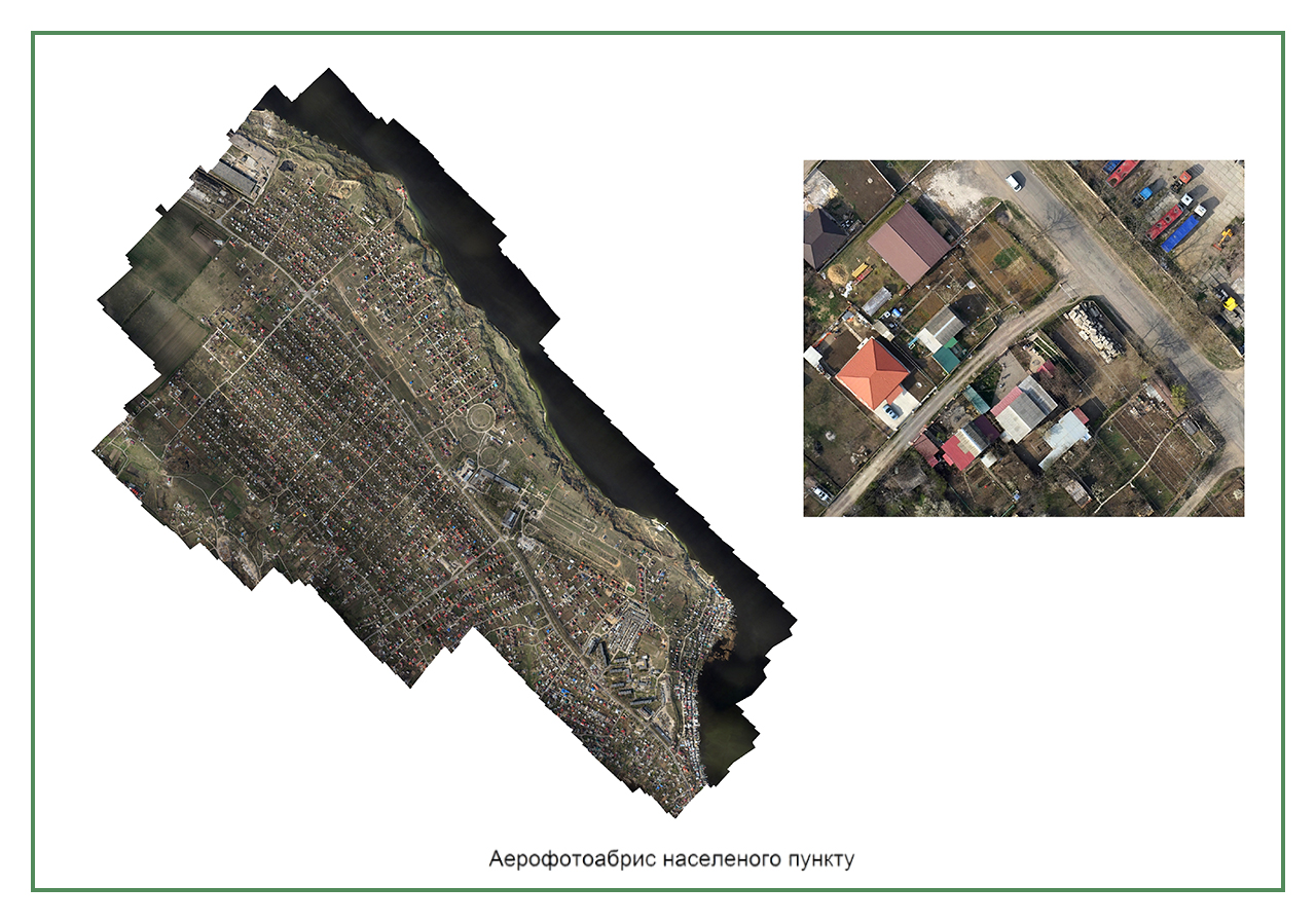 инвентаризация земель Нерубайского