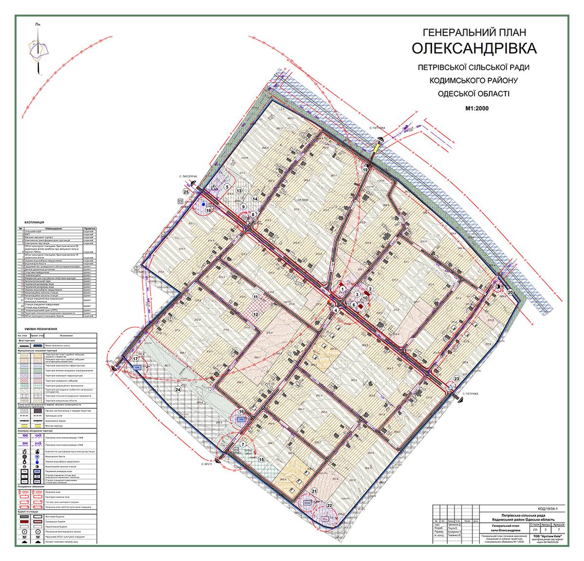 Генплан Александровка