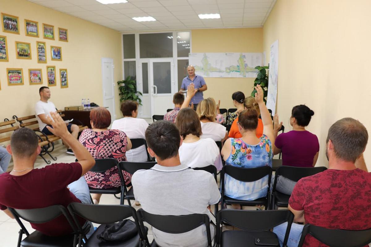 общественные слушания генплан Черкасская ОТГ